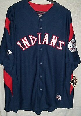 LARRY DOBY Cleveland Indians Majestic Cooperstown Throwback Baseball Jersey  NEW c87a39084