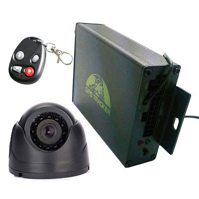 New RFID gps tracker vehicle Car tracking system &Remote Control &Camera TK105B