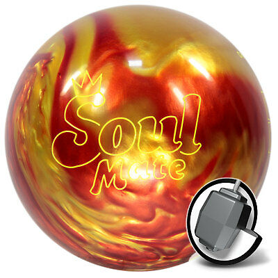 Bowling Ball Brunswick Soul Mate Orange Fire Pearl 10-15 lbs, Reaktiv Strikeball