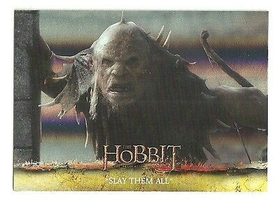2015 The Hobbit Desolation of Smaug Silver Foil Card # 19