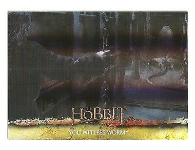 2015 The Hobbit Desolation of Smaug Silver Foil Card # 69