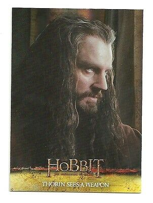 2015 The Hobbit Desolation of Smaug Silver Foil Card # 39