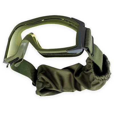 Bolle Tactical X1000 Ballistic Safety Military Army Goggles Clear Lens Green
