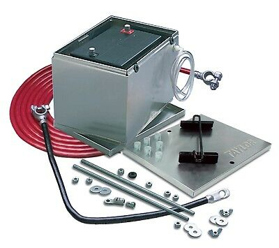 Taylor Cable 48104 Aluminum Battery Box