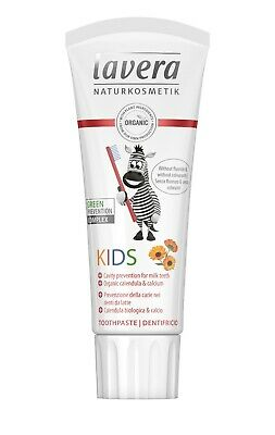 Lavera Basis Sensitive Kids Toothgel 75ml FREE P&P