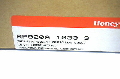New Sealed Honeywell Rp920A-1033-3 Pneumatic Controller Rp920A10333