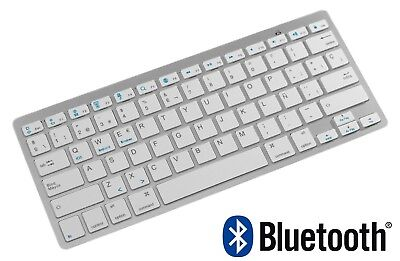 Teclado Bluetooth En Español Con Ñ Ipad Tablet Android Samsung Iphone Windows Pc