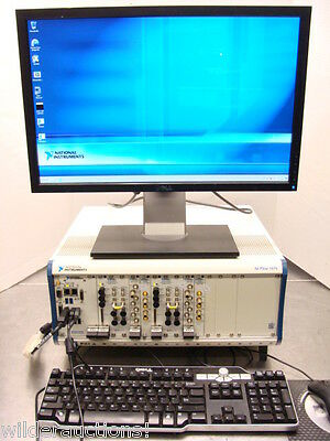 National Instruments NI PXIe-5644R Dual Vector Signal Transceiver System W/ 8135