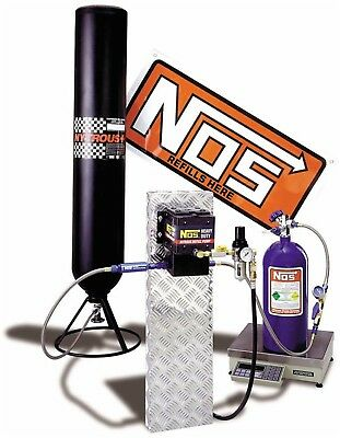 NOS 14251NOS Nitrous Refill Station Transfer Pump Kit