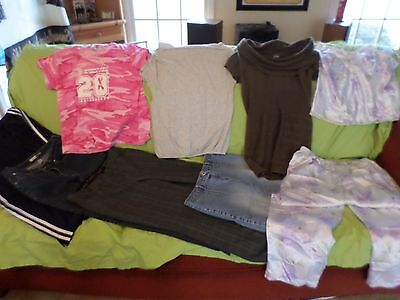 Women's mixed lot clothes size large/10 (W-L)