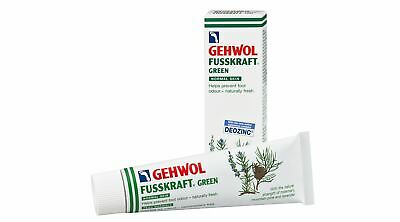 Gehwol Fusskfraft Green Foot Cream - Regulates Perspiration & Odour Protection
