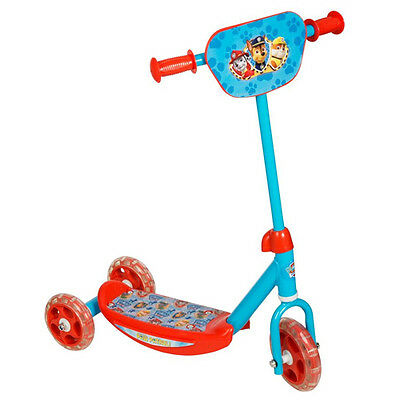 Paw Patrol 3 Wheel Scooter Fun Kids Outdoor Gift Tri Ride On Toy Adjustable New