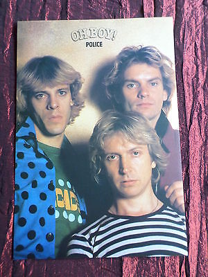 The Police - Rock /pop Music - 1 Page  Picture- Clipping/cutting