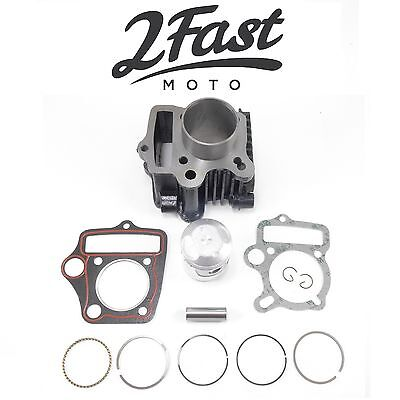 2FastMoto 70cc Domed Piston Cylinder Kit Honda CT70H TRX70 XR70R