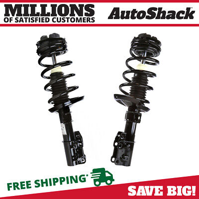 Pair (2) Complete Front Strut Assemblies For a 03-07 Saturn Ion