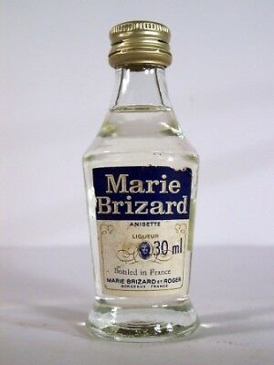 Miniature circa 1972 Marie Brizard Anisette Isle of Wine