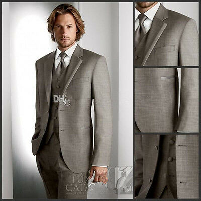 Men's Wedding suits Groom Suits formal Business suit Fashion Tuxedos Custom made