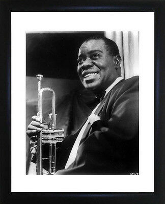 Louis Armstrong Framed Photo CP0292