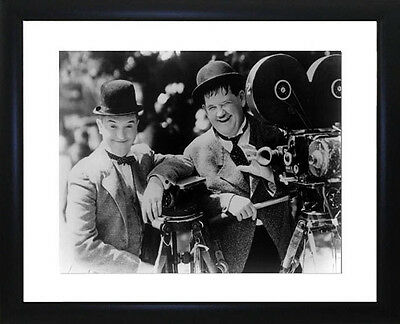 Laurel And Hardy Framed Photo CP0273