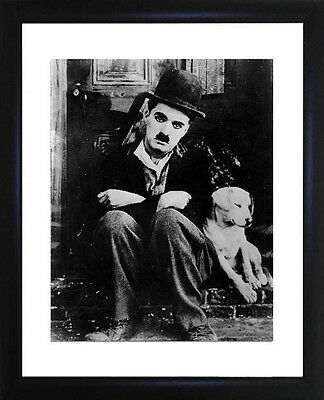 Charlie Chaplin Framed Photo CP0070