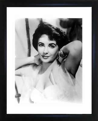 Elizabeth Taylor Framed Photo CP0110