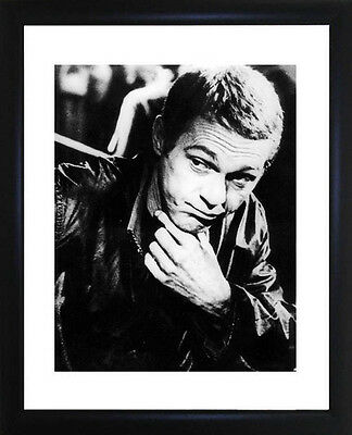 Steve McQueen Framed Photo CP0465