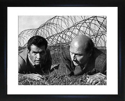 James Garner And Donald Pleasance Great Escape Framed Photo CP0705