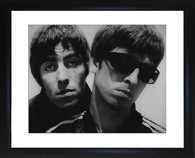 Oasis Liam and Noel Gallagher Framed Photo CP0667