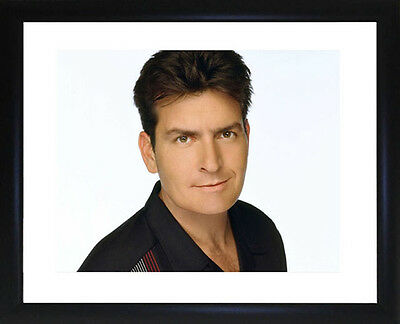 Charlie Sheen Framed Photo CP1564