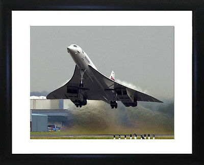 Concorde Framed Photo CP1152