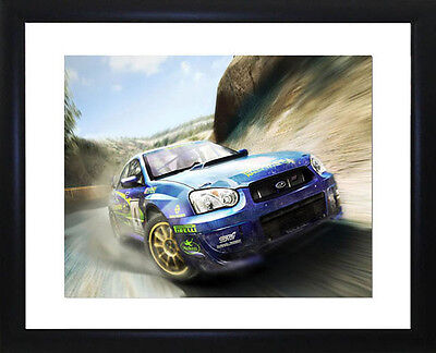 Colin McRae Framed Photo CP0879