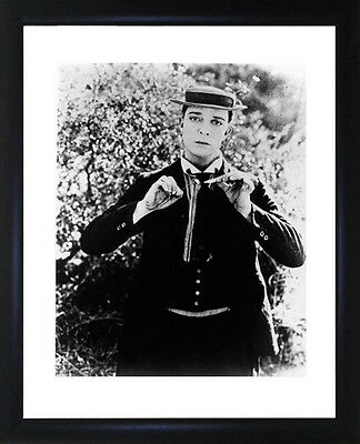 Buster Keaton Framed Photo CP1527