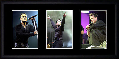 Robbie Williams Framed Photographs PB0264