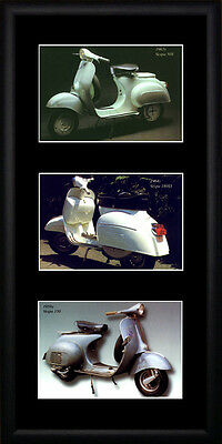 Vespa  Framed Photographs PB0112