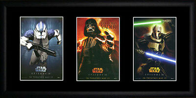 Star Wars Revenge of the Sith  Framed Photographs PB0090