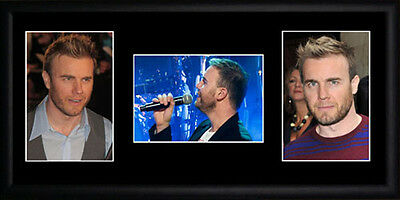 Gary Barlow Framed Photographs PB0488