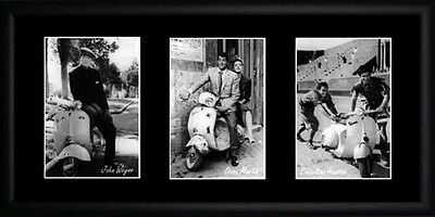 Vespa Framed Photographs PB0113