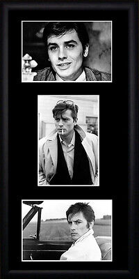 Alain Delon Framed Photographs PB0533