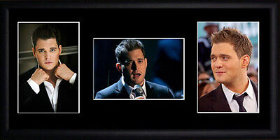 Michael Buble Framed Photographs PB0493