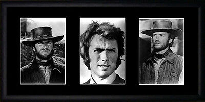 Clint Eastwood Framed Photographs PB0002