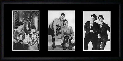 Laurel & Hardy Framed Photographs PB0038