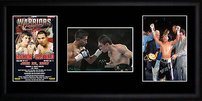 Ricky Hatton Framed Photographs PB0419