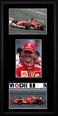 Michael Schumacher Framed Photographs PB0226