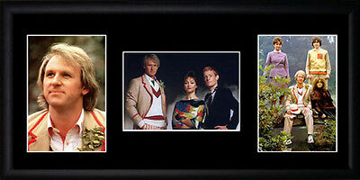 Dr Who Peter Davison Framed Photographs PB0510