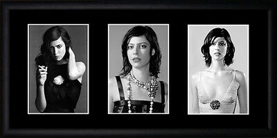 Anna Mouglalis Framed Photographs PB0586