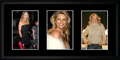 Christie Brinkley Framed Photographs PB0646