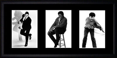 Chubby Checker Framed Photographs PB0651