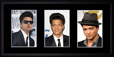 Bruno Mars Framed Photographs PB0627