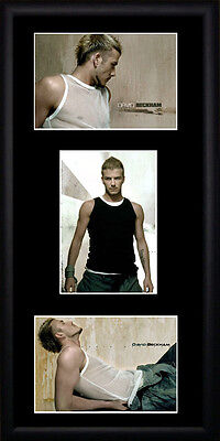David Beckham  Framed Photographs PB0197