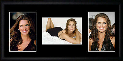 Brooke Shields Framed Photographs PB0624